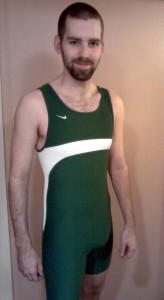 Green singlet for Cub Camp