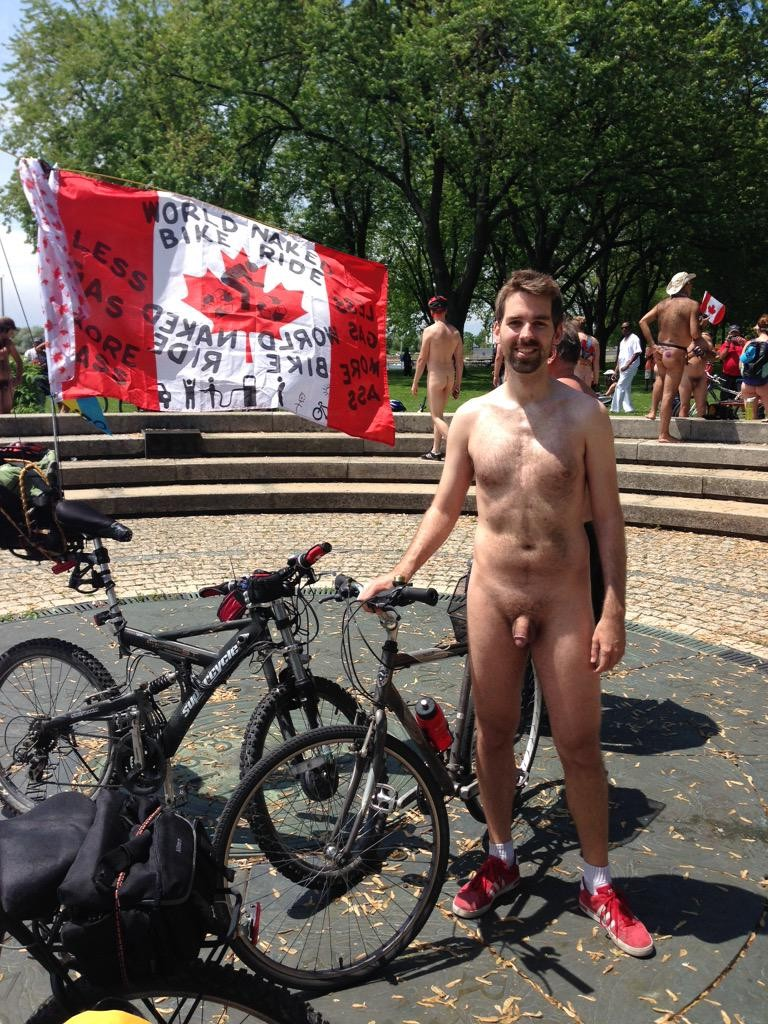 World Naked Bike Ride Toronto 2015